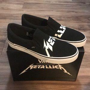 NWOB Vans x Metallica Slip-Ons